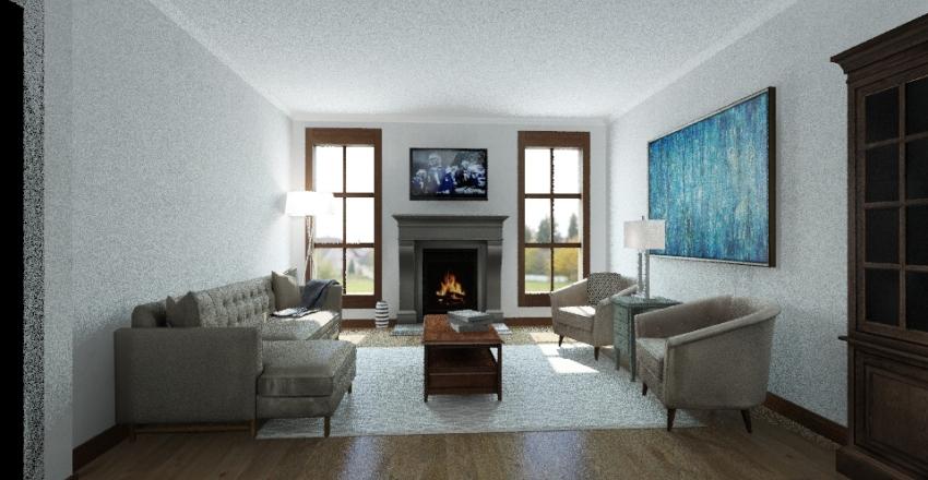 Gilliam Guesthouse Interior Design Render