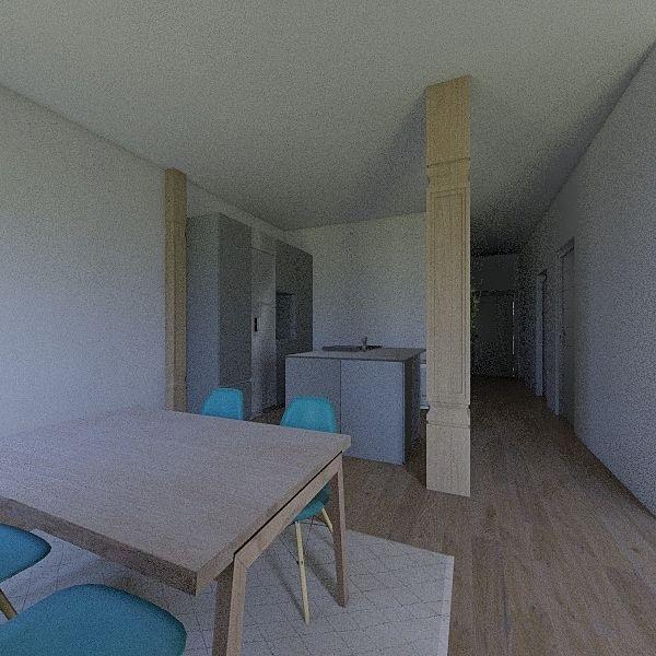García Salazar Plano 4 Interior Design Render