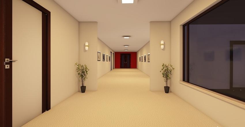 Existing paint Interior Design Render