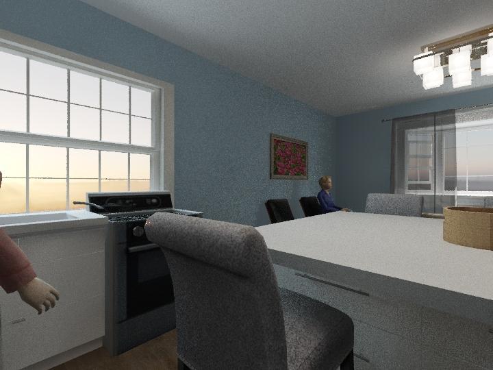 Mom's House Interior Design Render