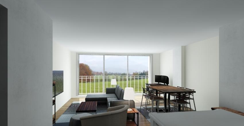 822 E Washington #1017 Interior Design Render