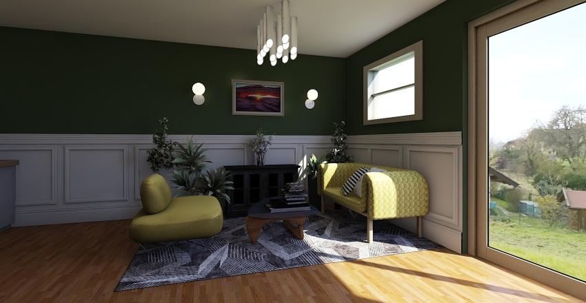 Pili Shop Interior Design Render