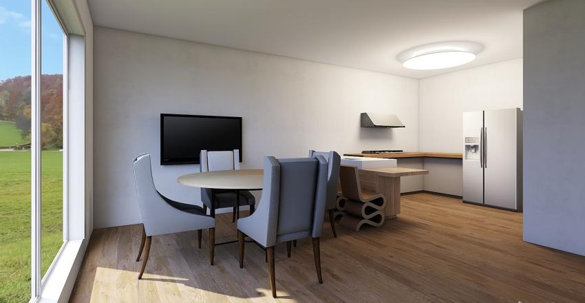 Apartamento modelo 2 Interior Design Render