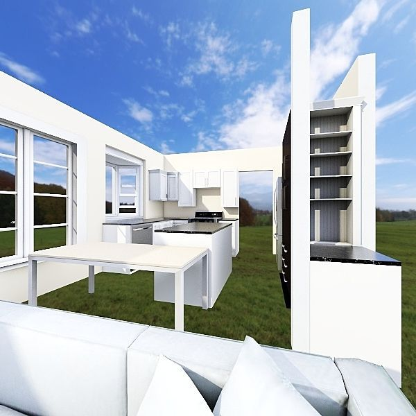 Kitchen Reno Interior Design Render