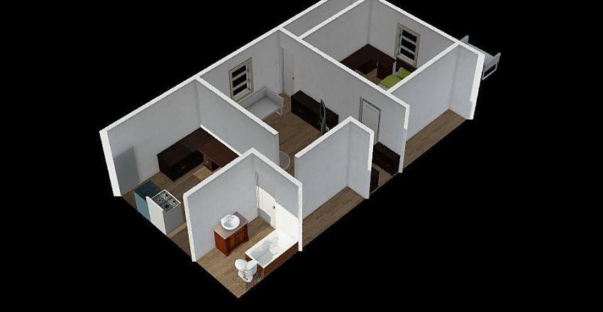 Room Base Interior Design Render