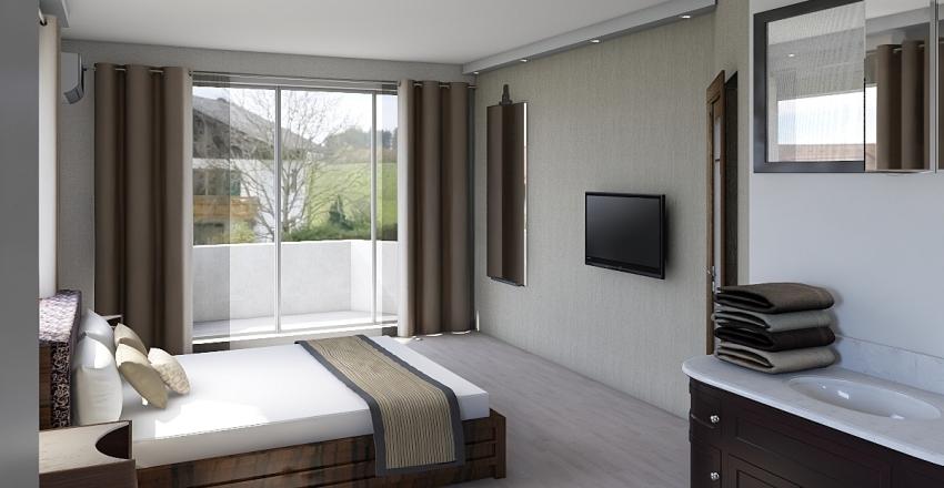 2 этаж - самый последний вариант бежевый Interior Design Render