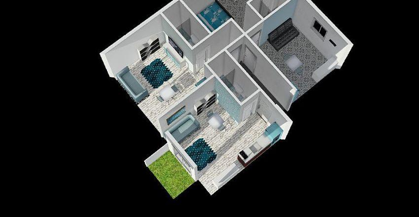 betsalel 3 unites Interior Design Render
