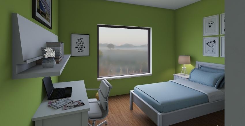 Cuartaaaa Interior Design Render