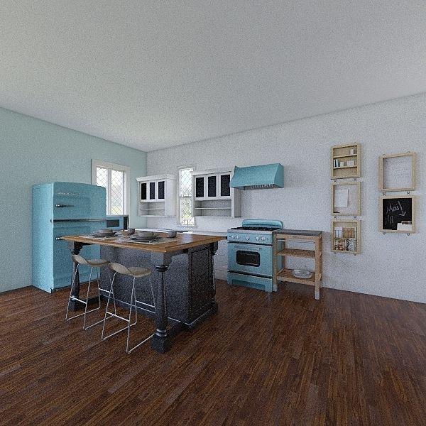 Bed and Breakfast Interior Design Render