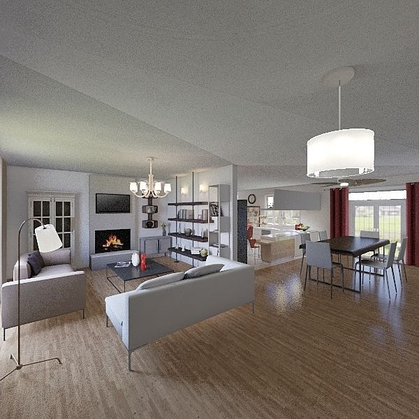 House design Interior Design Render