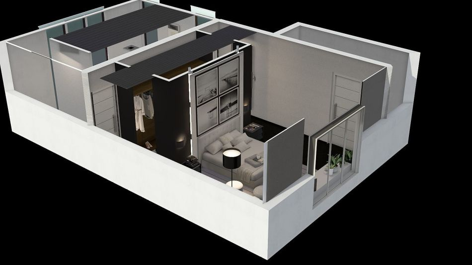 Bath e bed interior decoration rendering salvatore di bono for Homestyler italiano