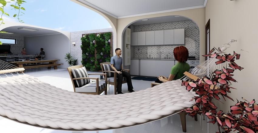 Casa Mamãe 1 Interior Design Render