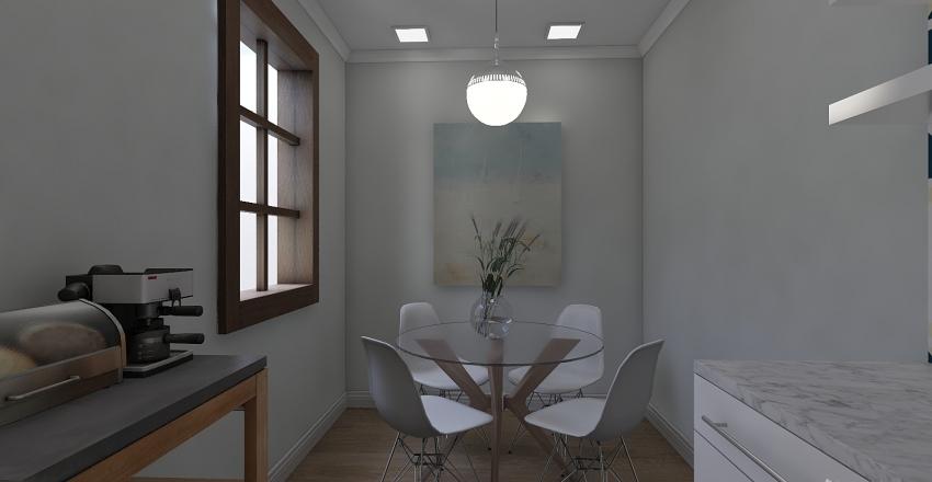 Casa muito pequena Interior Design Render