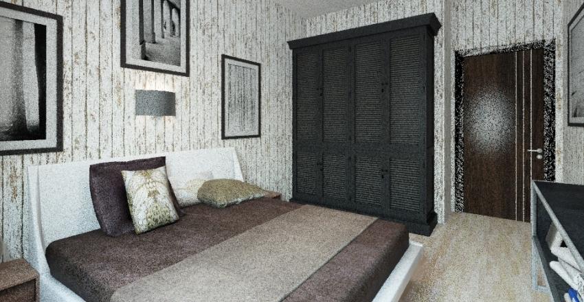 спальня Interior Design Render