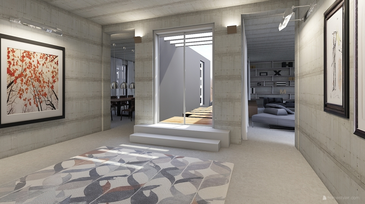 The gallery house interior decoration rendering stile for Homestyler italiano