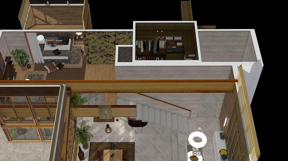 Africa interior decoration rendering svetlysveva design for Homestyler italiano