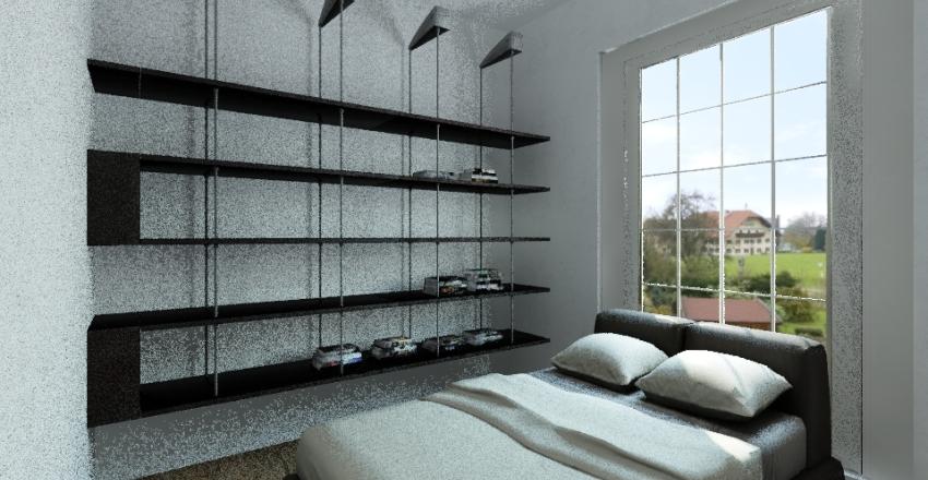 Casita montaña Interior Design Render