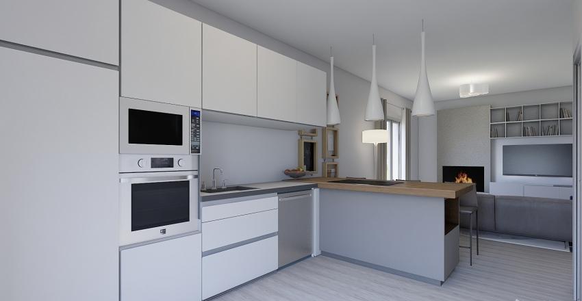 casa_Quarto Interior Design Render