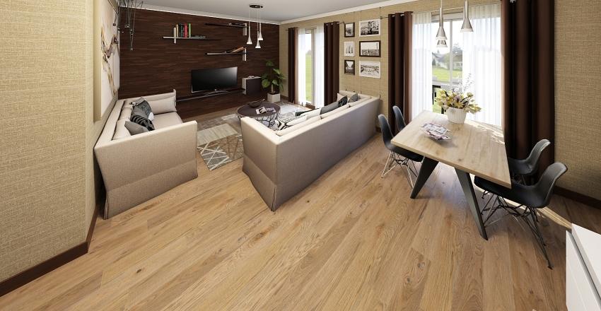 Emelet 2.lakás Krattinger Interior Design Render