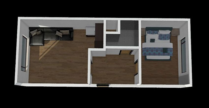 olbrachtova Interior Design Render
