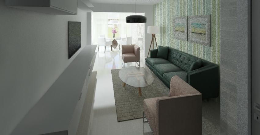 דירה חיל האויר Interior Design Render