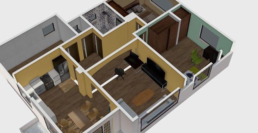 Последна ревизия с обзавеждане Interior Design Render