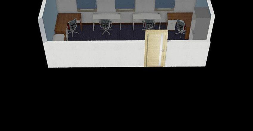 biuro asiaa Interior Design Render