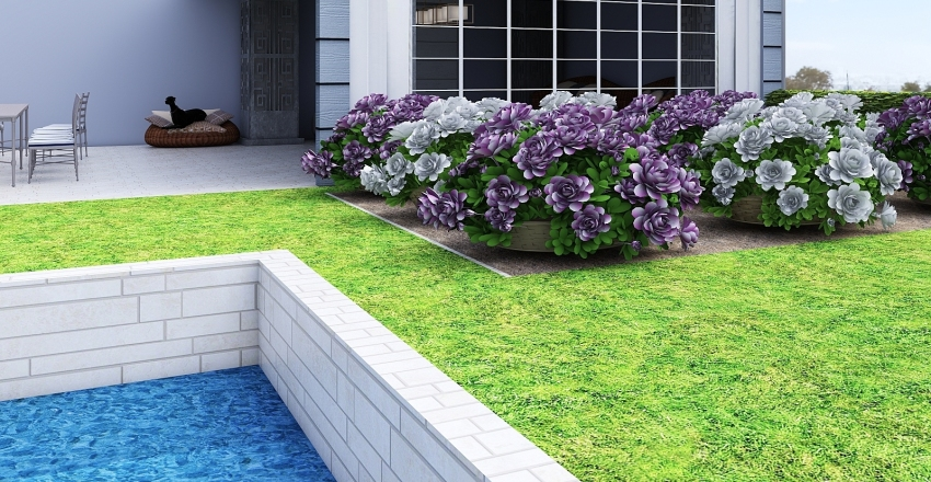 Outside Oasis Interior Design Render