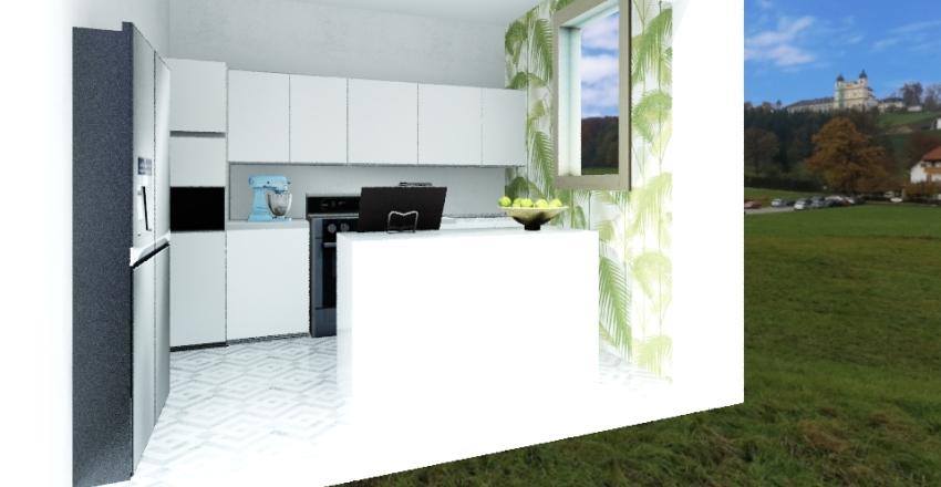kuchna Interior Design Render