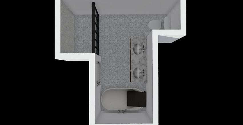 Ceemar Bathroom 2 Interior Design Render