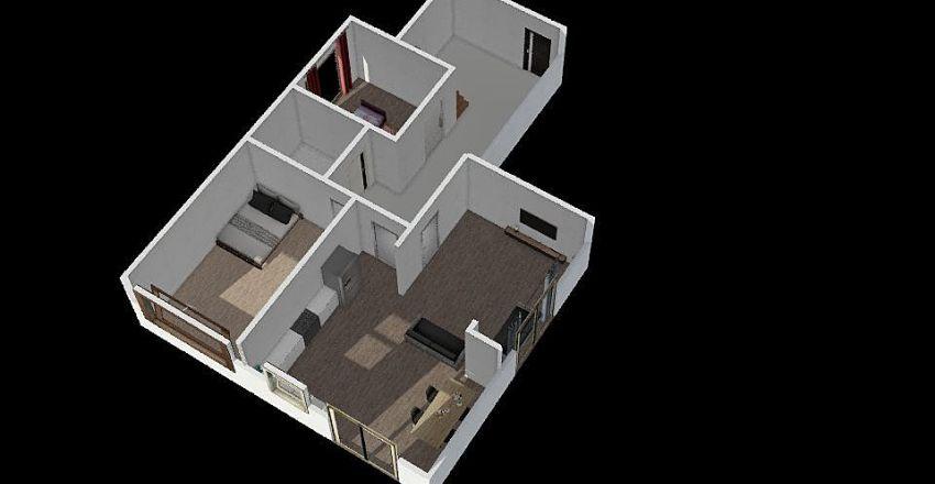 my home f1 Interior Design Render
