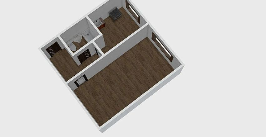 1-комн_0210_2 Interior Design Render