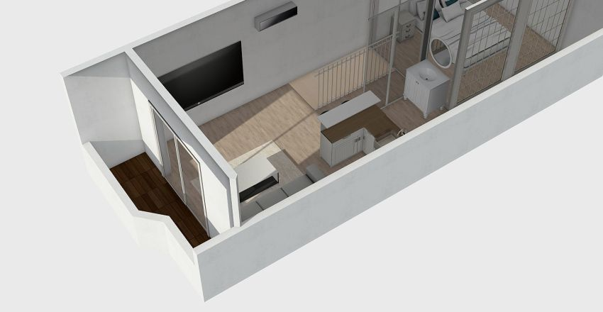 4F Interior Design Render