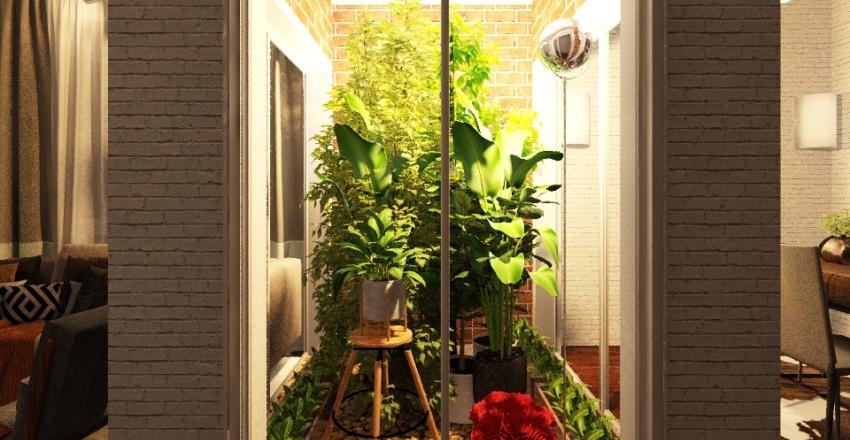 Jardim de Inverno Interior Design Render