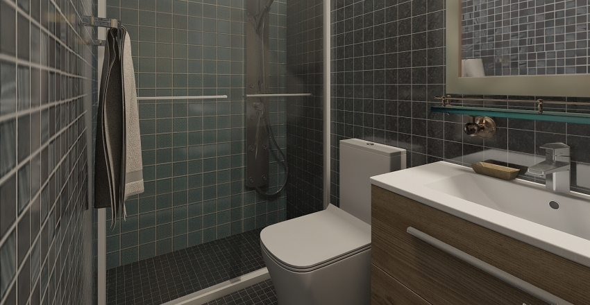 ДОМ 2 обновленный Interior Design Render
