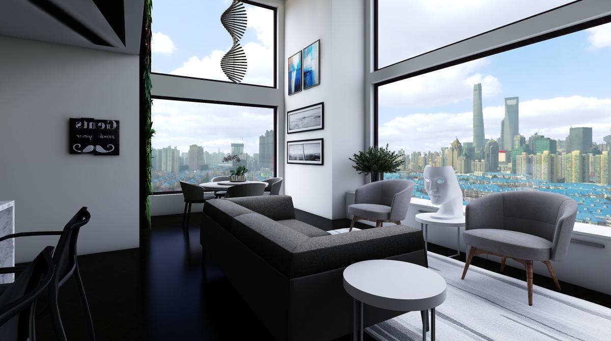 Loft integrato interior decoration rendering neila for Homestyler italiano