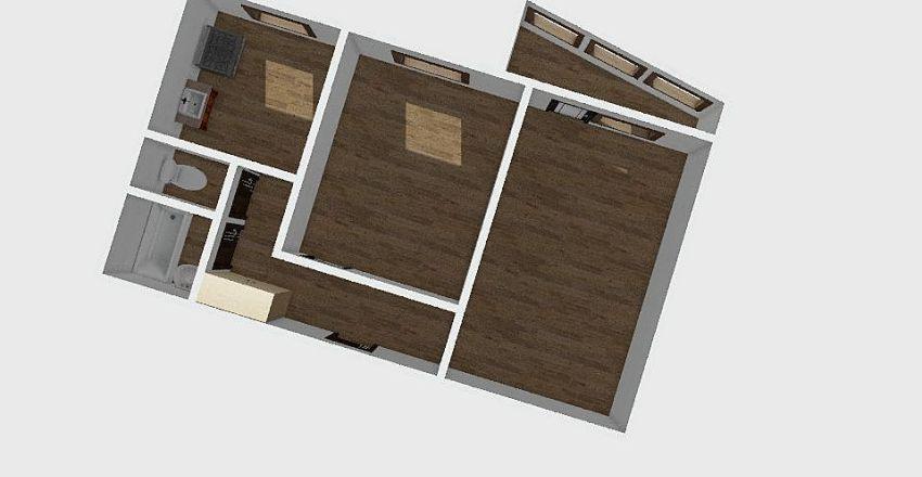 2-комн_039_15 Interior Design Render