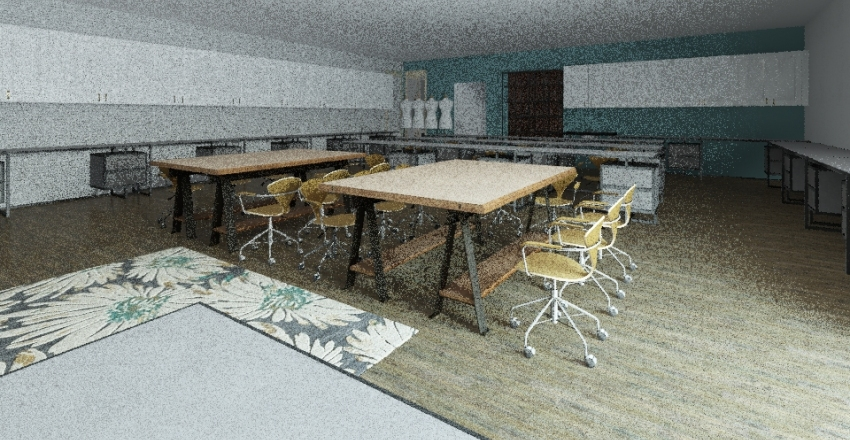 Fashion Room Interior Design Render