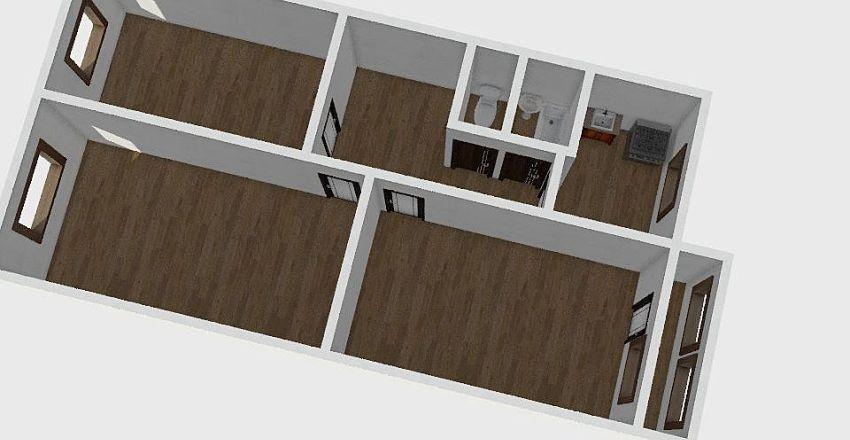 3-комн_062_1 Interior Design Render
