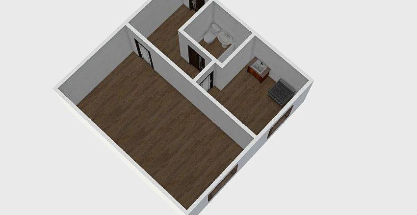 1-комн_010_4 Interior Design Render
