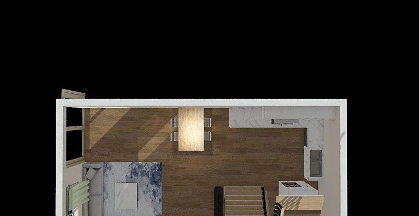 living room ver1 Interior Design Render