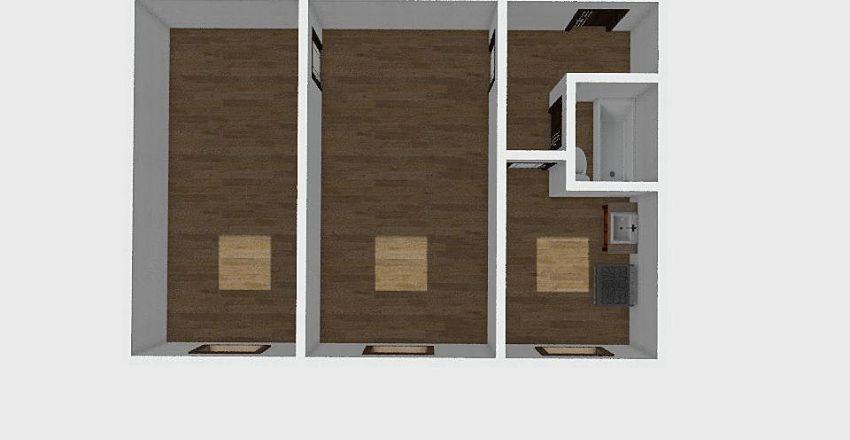 2-комн_0193 Interior Design Render