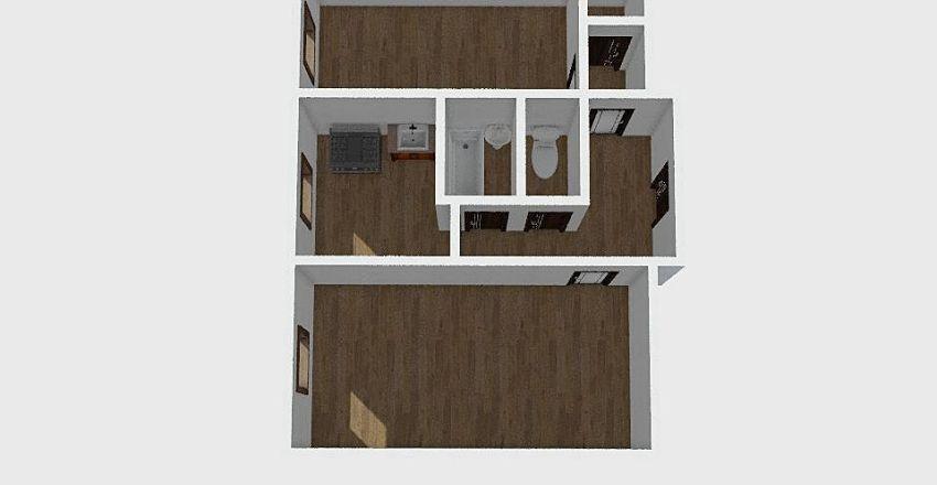 2-комн_0115 Interior Design Render
