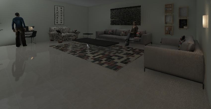 ROOM 605 Interior Design Render