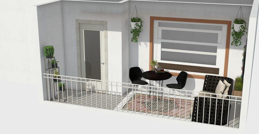 Chandra's Garden Interior Design Render