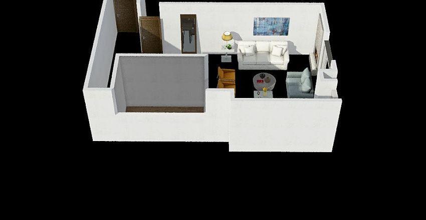 PROYECTO MORALES Interior Design Render