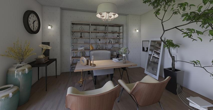 Living Room Remake Interior Design Render