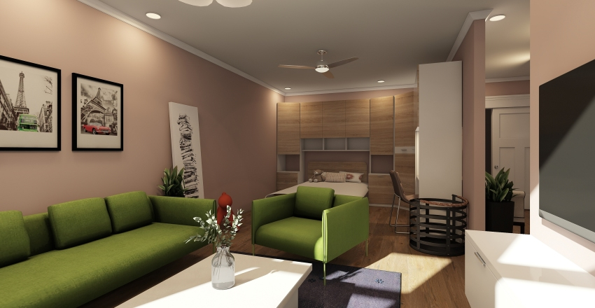 Kiz 412 Interior Design Render