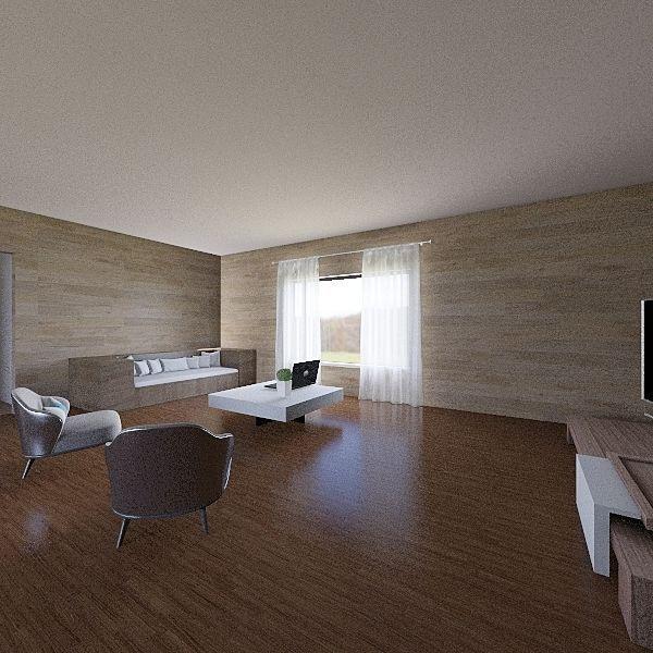 Casa de Julián Interior Design Render