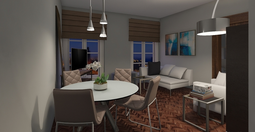 Apartment 4 - revised Interior Design Render